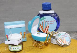 Lembrancinha de maternidade um kit personalizado