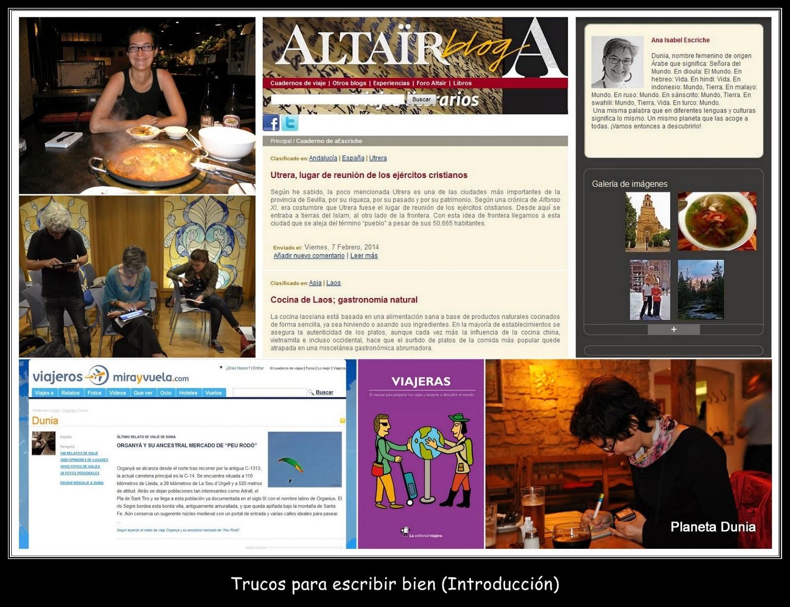 Planeta Dunia: Trucos para escribir bien (I parte del Taller de ...