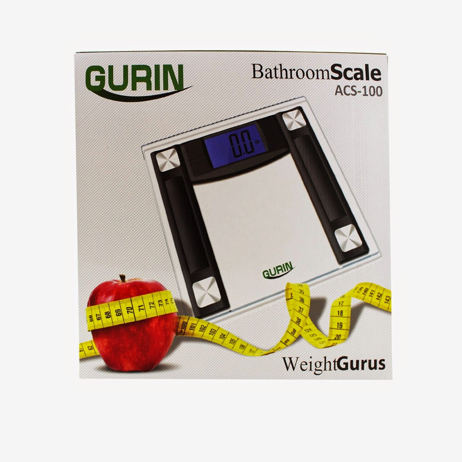 Gurin High Accuracy Digital Bathroom Scale