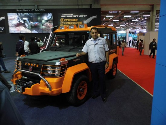 force gurkha SUV india
