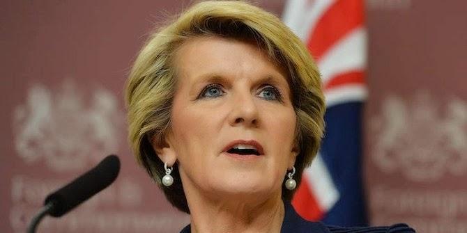 Menteri Luar Negeri Asutralia Julie Bishop