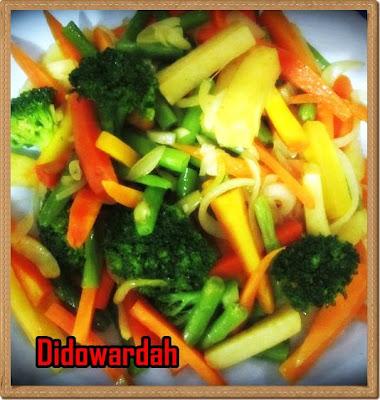 tips membuat setup sayuran salad sayur yang segar dan