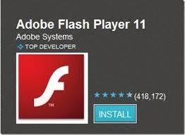 adobe flash player application free download