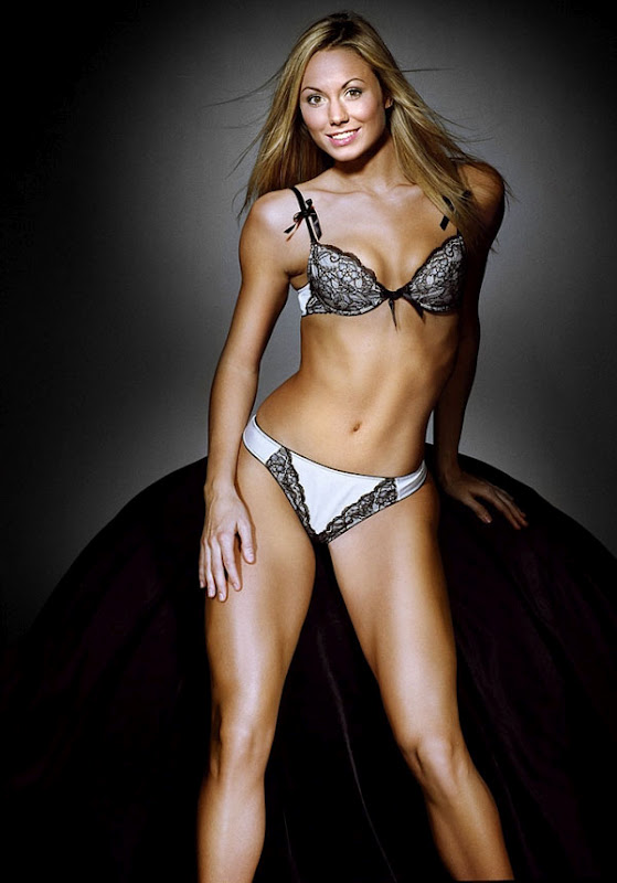 Late, than stacy keibler licks with