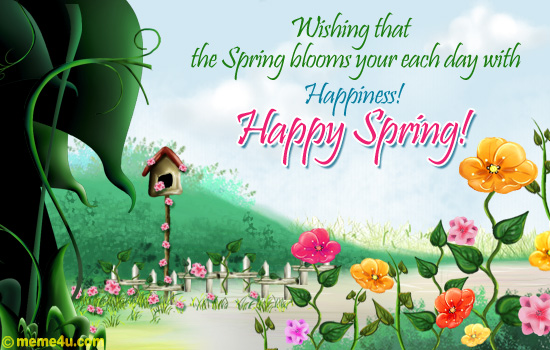 ... `*.¸.*´04-10-1972 - 27-06-2010`*.¸.*´: Happy Spring Day Friends