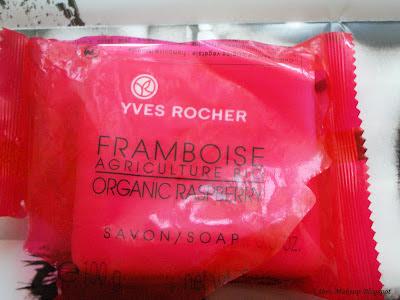 Yves Rocher framboise organic soap