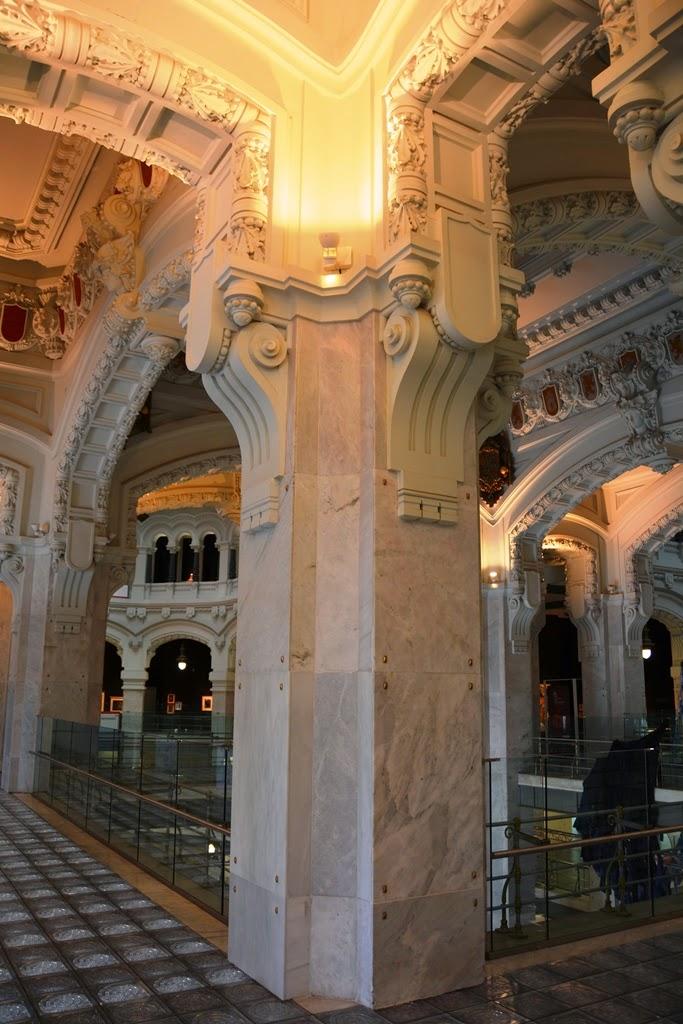 Cibeles Palace Madrid Column