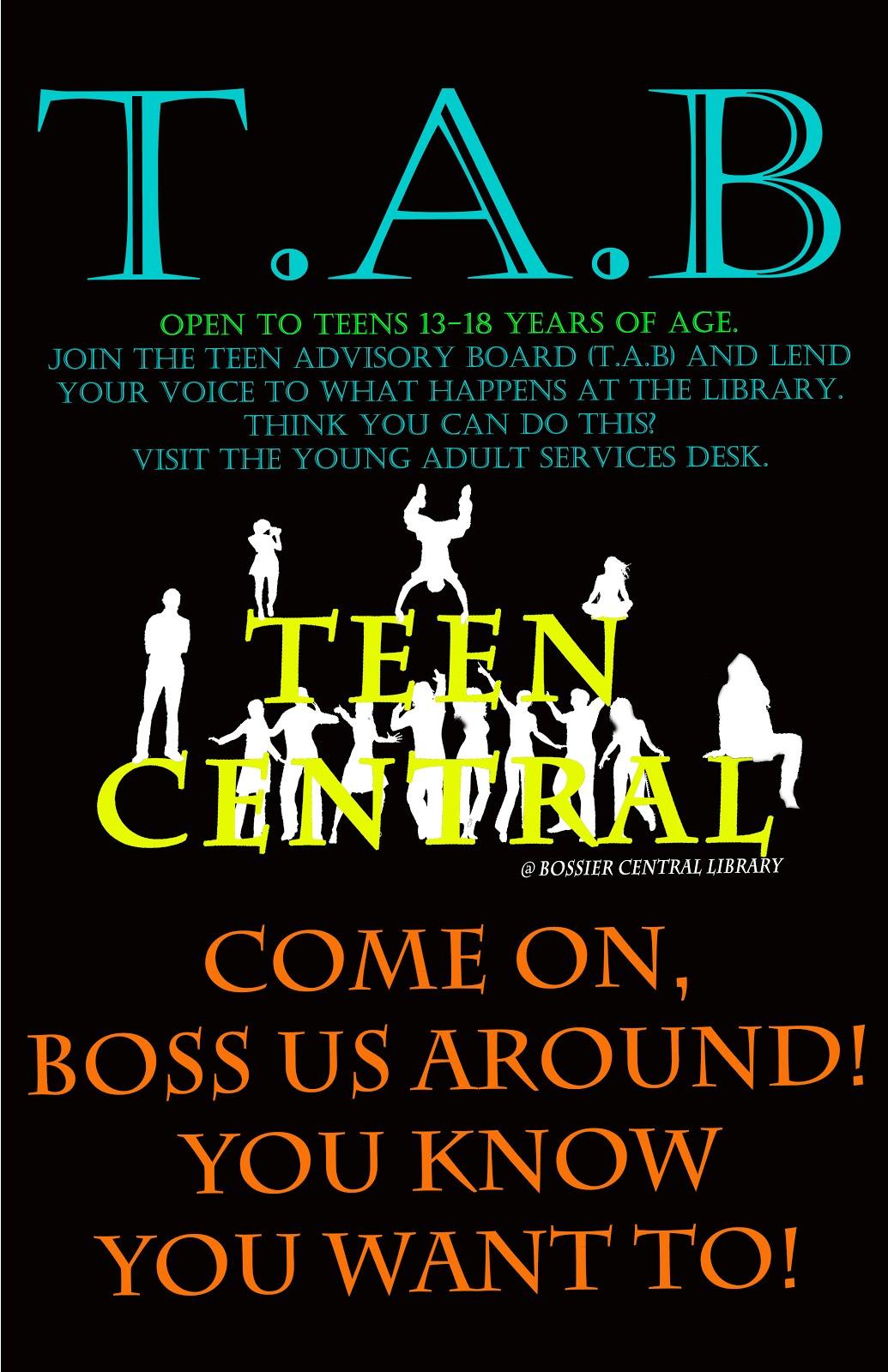 Join the Teen Advisory Board