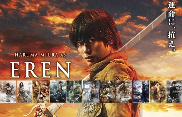 Eren Attack on Titan Live-Action