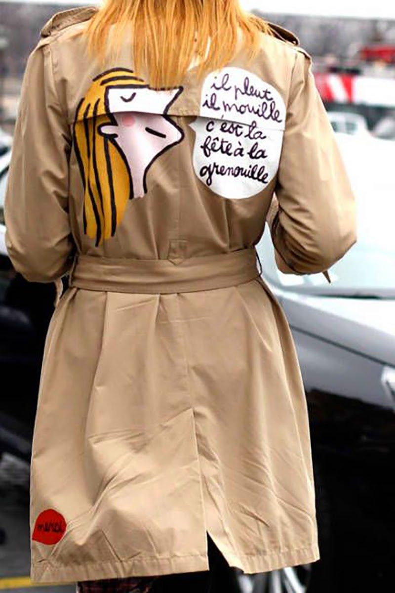 How to wear a trench-gabardina