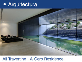 All Travertine - A-Cero Residence
