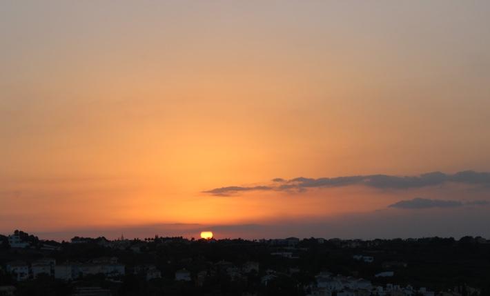 cyprus sunset protaras