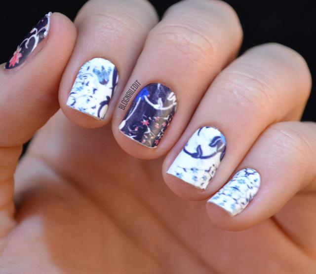 NCLA & Glamour Nail Wraps Review - Nailed It | The Nail Art Blog