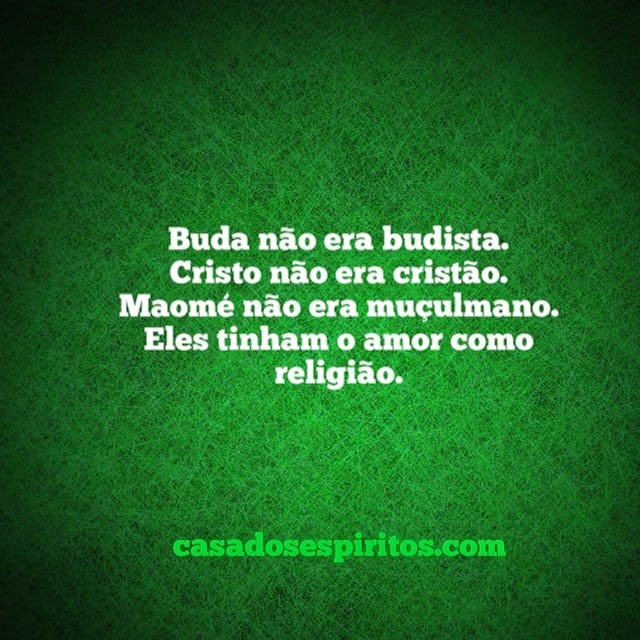 frase O amor como religião