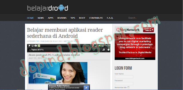 Dunia Blog Android