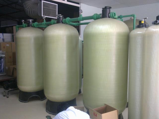 Xử lý nước nhiễm mặn tại Thanh Hóa