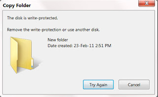 How to Write-Protect Your USB Flash Drive Warning