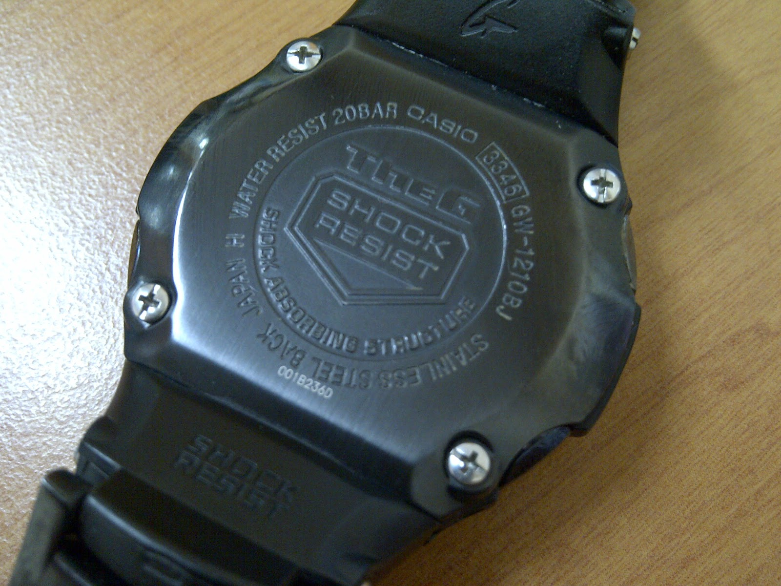 Casio g shock wr