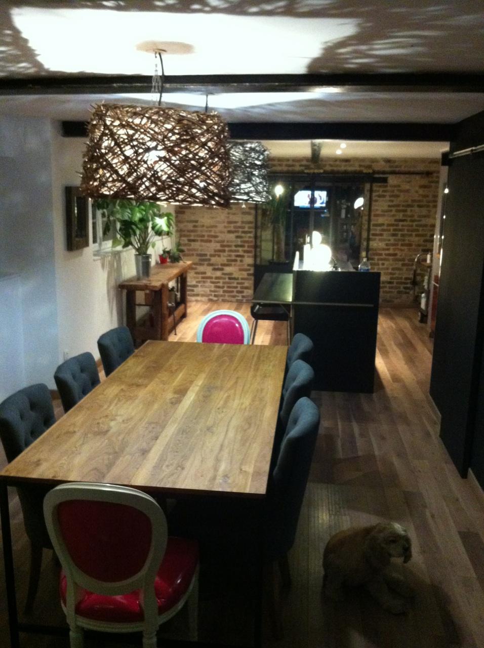 Blog de la maison de l 39 imaginarium l 39 ambiance factory for Meuble salle a manger noir