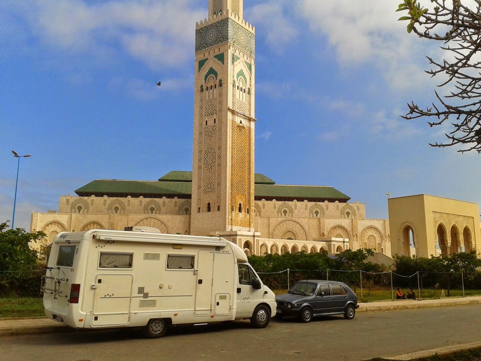 A pie de mezquita