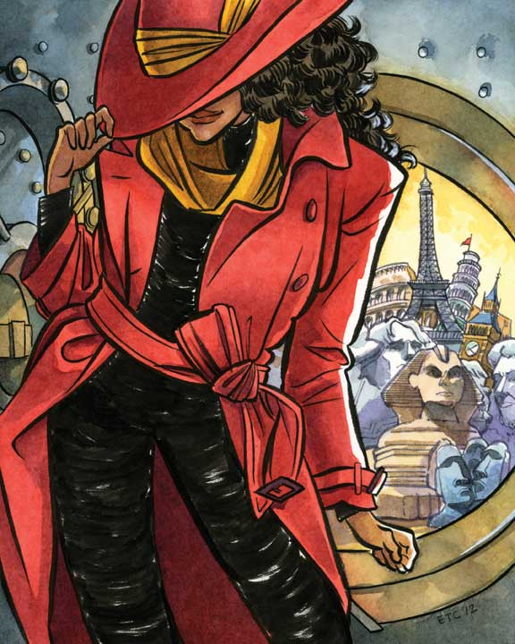A Bit of Silliness, Really: It Was Carmen Sandiego All Along!