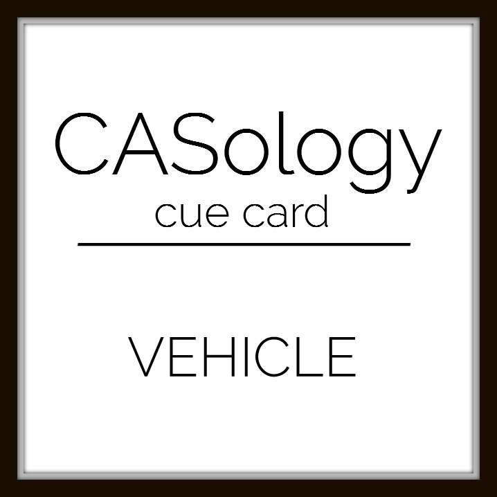 Judys card corner casology 171 vehicle with cue in mind i cant help but think of the funny movie planes trains and automobiles starring steve martin and john candy colourmoves