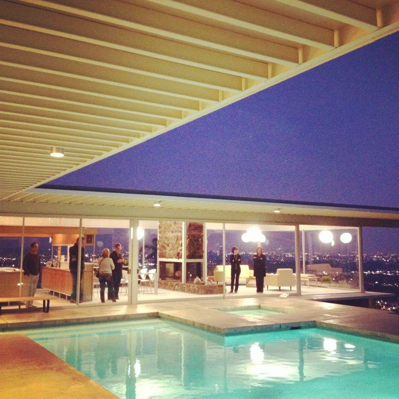 modern interior design  Case Study House Model      Pierre Koenig