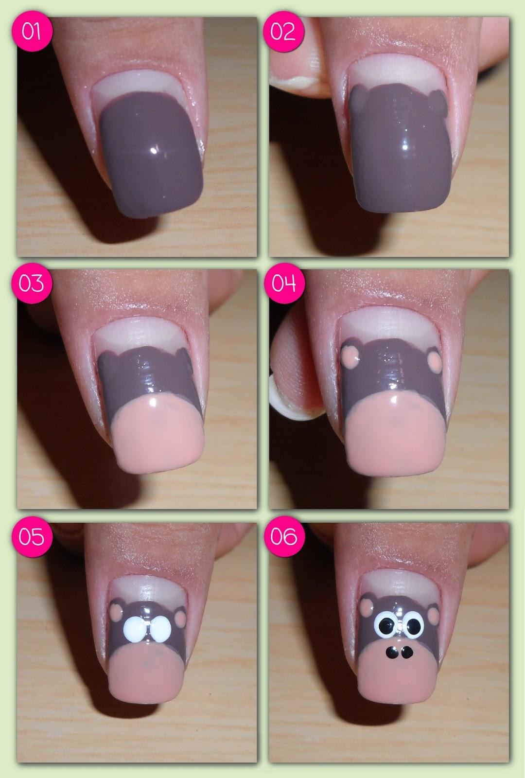 Скачать тренировочные карты для росписи ногтей