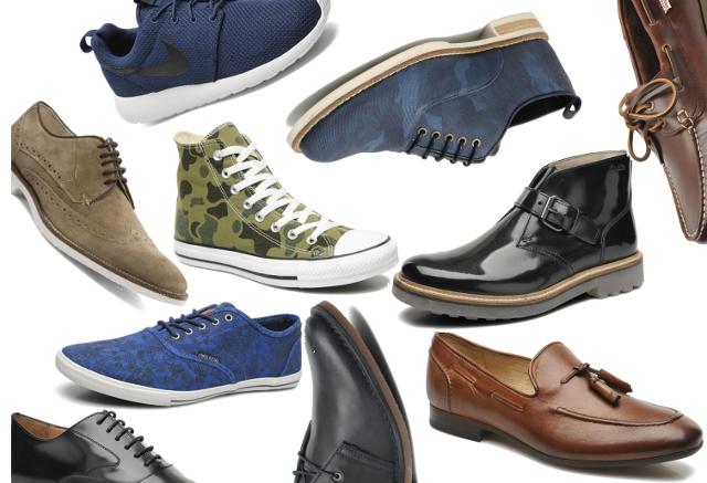 Rayas y cuadros blog de moda masculina shopping time zapatos imprescindibles para primavera - Zapatos collage ...