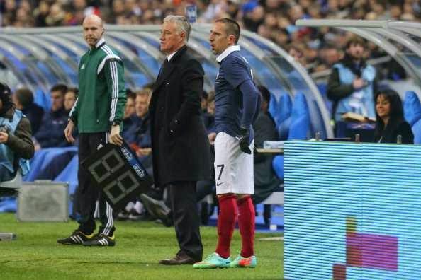 Zinedine Zidane Sarankan Franck Ribery Kembali Bela Prancis