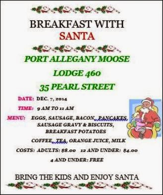 12-7 Breakfast With Santa