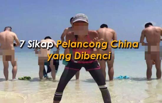 7 Sikap Pelancong China yang Dibenci