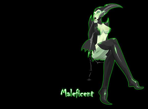 Disney Villains Maleficent Dragon