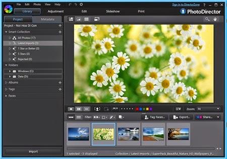 Cách nhận miễn phí bản quyền PhotoDirector 5