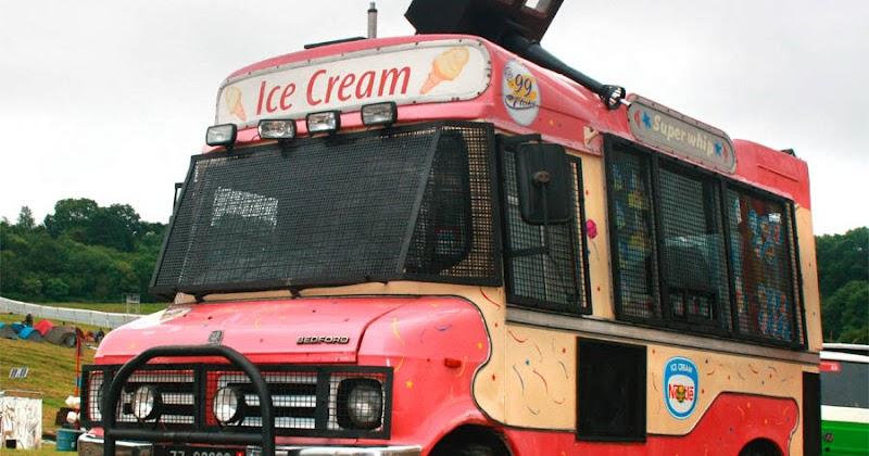 Vintage Ice Cream Trucks 80