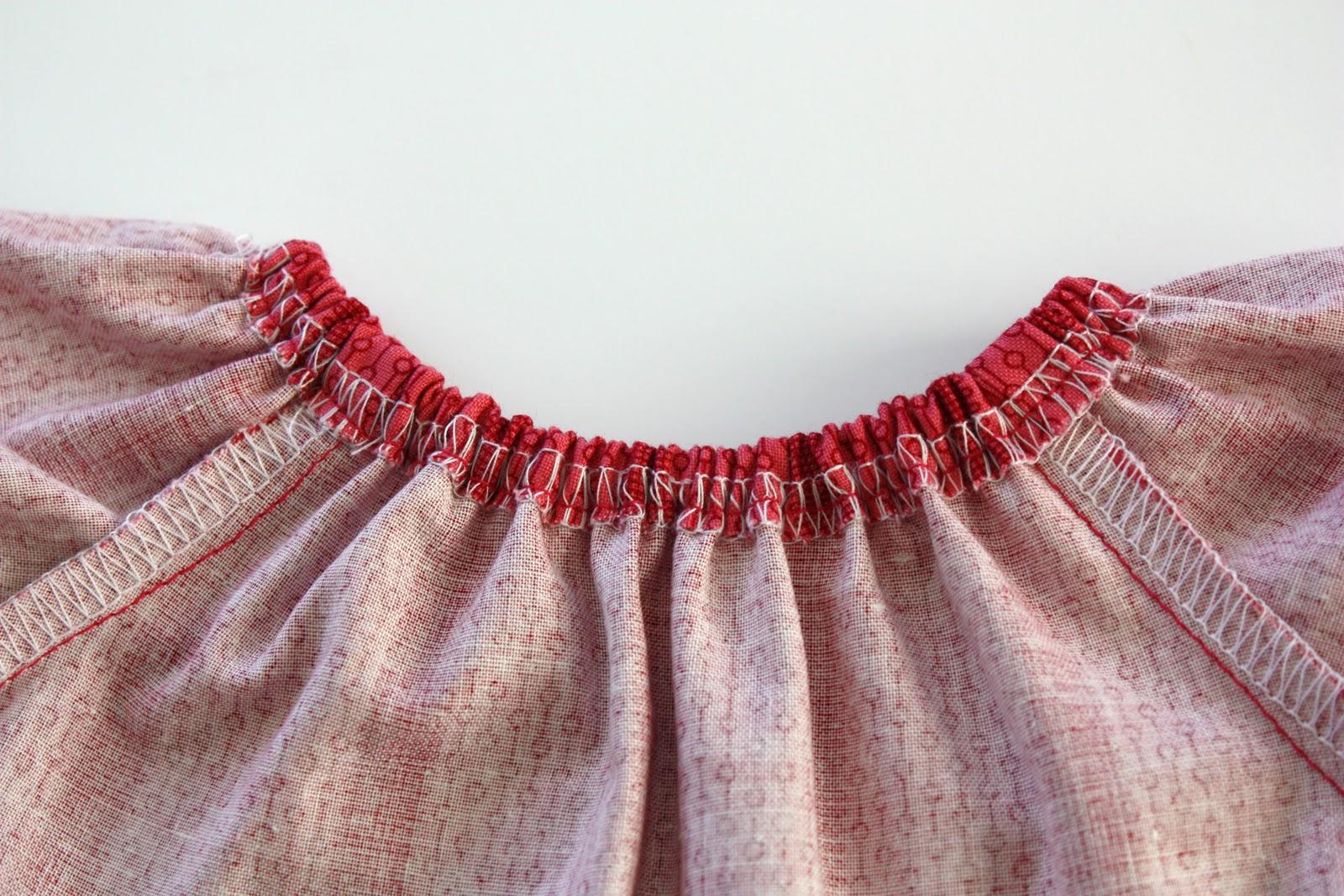 Сшить детское платье на резинке 834