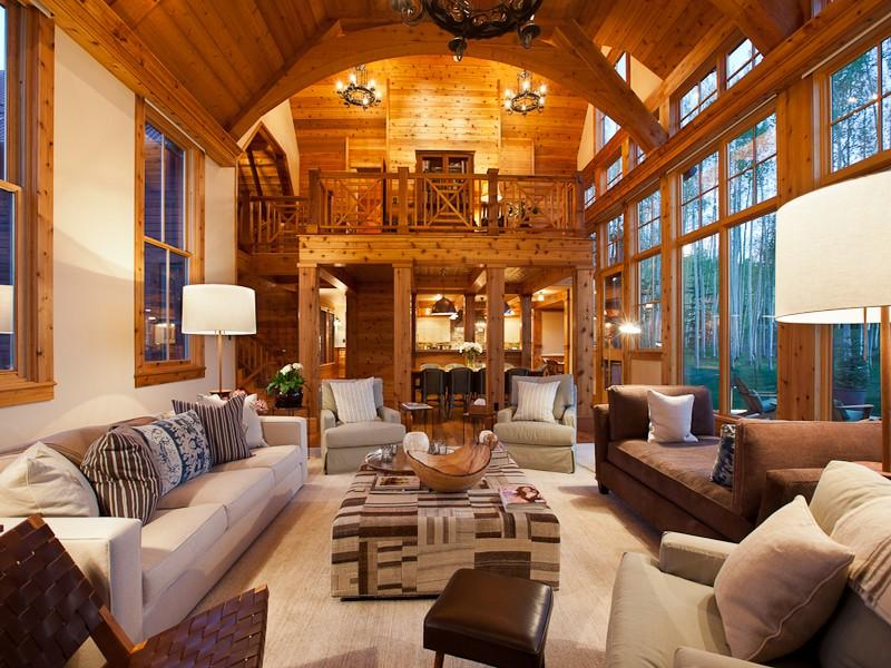 Mega Mansion Jerry Seinfeld Has Just Listed His Telluride CO Home For 18250000 The Boasts 14200 Square Feet Of Living Space With 11 Bedrooms