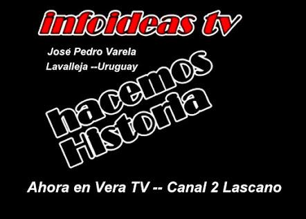 Novedades !! ahora -INFOIDEAS TV en VERA TV- Una VES A LA SEMANA Toda la información de la ciudad .