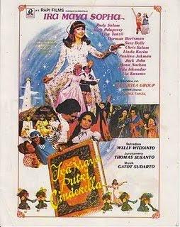 film jadul Ira Maya Putri Cinderella