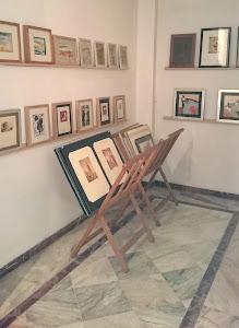 EXPOSICIÓN Y VENTA PERMANENTE de  ACUARELAS GRABADOS Y DIBUJOS