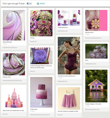 Can't Get Enough Purple by Tricia @ SweeterThanSweets on Pinterest