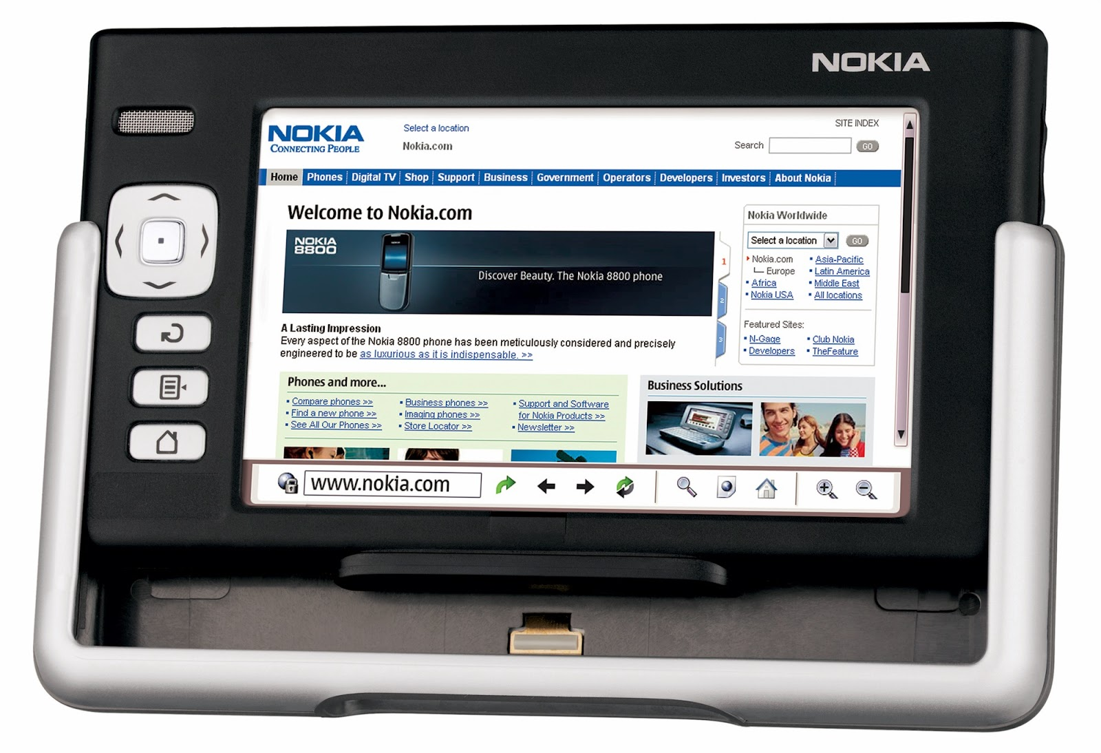 mobile phones and other gadgets nokia 770 inter  tablet 2005