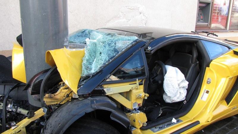 Marchettino The Only Official Website Brutal Lamborghini Crash