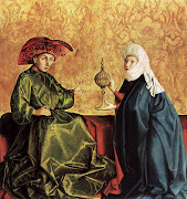 King Solomon and the Queen of Sheba by Konrad Witz (1435)
