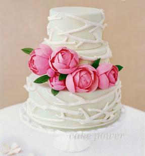 Peonies Spring Cake