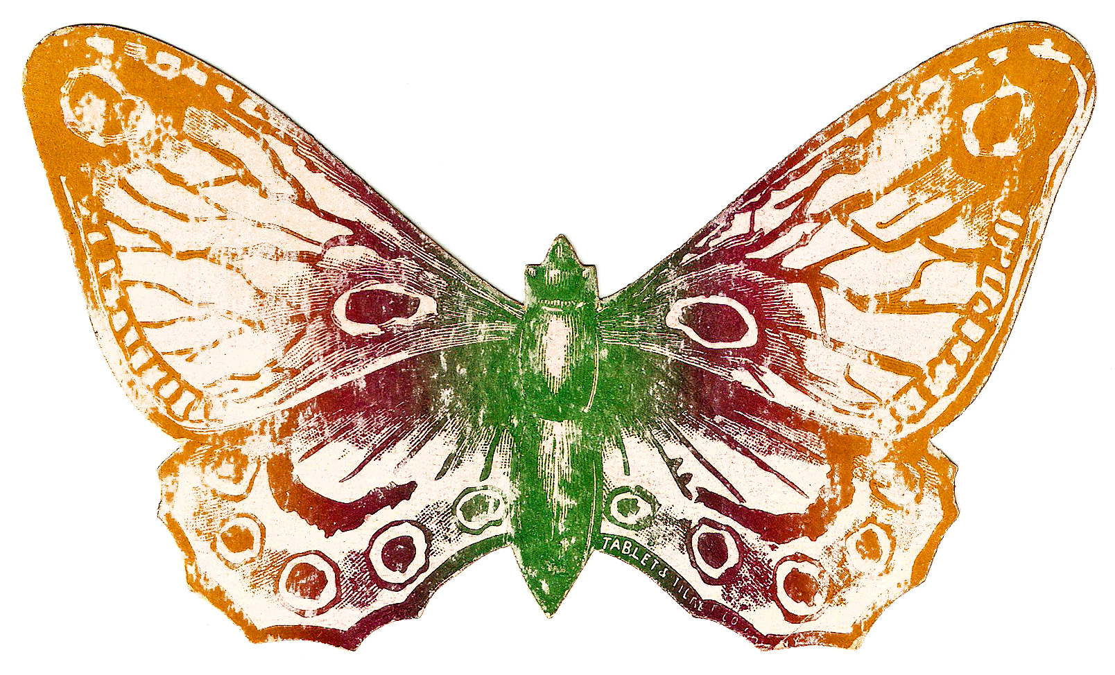 free vintage butterfly clipart - photo #6