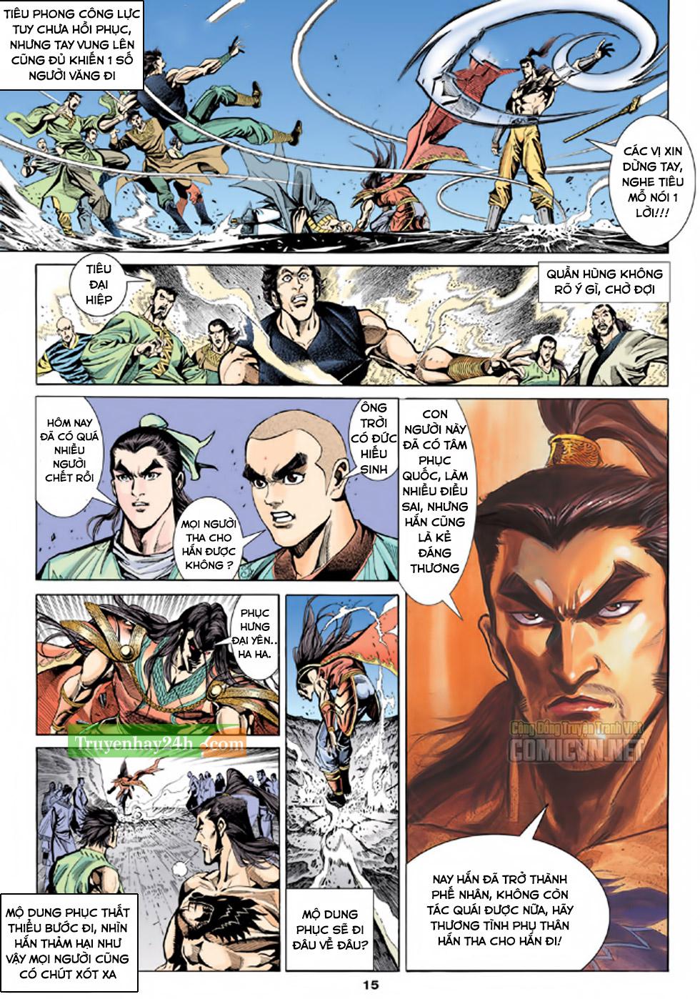 Thiên Long Bát Bộ chap 100 – End Trang 16 - Mangak.info