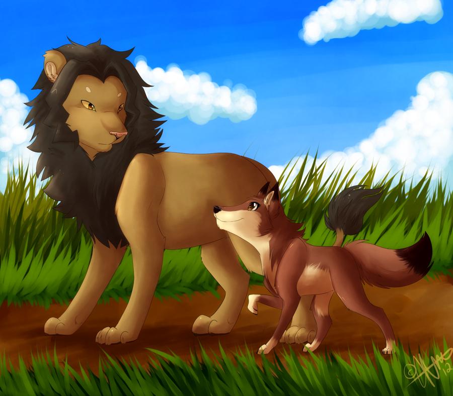 الحيوانات حكاية أفريقية