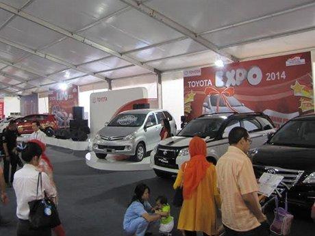 Toyota Expo, Tukar Mobil Anda dengan yang Baru