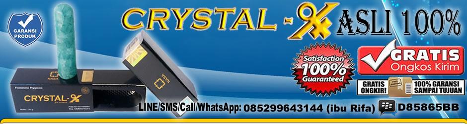 Jual Grosir Crystal X asli dari PT. NASA stockist DD897 SIDOARJO, SURABAYA, GRESIK